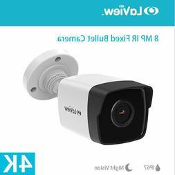 HD 4K 3840x2160 8MP Security Bullet IR CCTV Camera IP67 3.6m