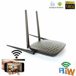 HD 4K Wifi IP Wireless Camera Home Router Hidden SPY Recorde