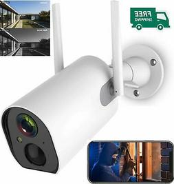 HD 1080P Wireless Wifi IP Security Camera System Outdoor Bat