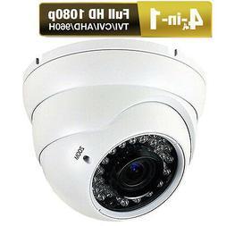HD-TVI 2.6MP 1080P 1/3HD CMOS Sony CCD CCTV Varifocal Lens D