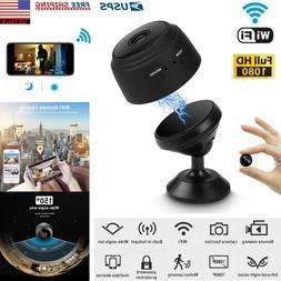 Hidden Spy Camera Mini Wifi security Wireless IP 1080P Night