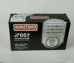 Elemake High Security Locks, 100% Mechanical Deadbolt, AX-MK