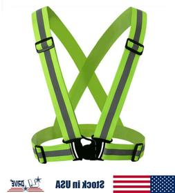 High Visibility Adjustable Safety Security Reflective Vest G