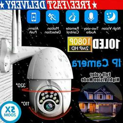 1080P IP Security Camera System Home 2-Way Audio Dome WiFi O