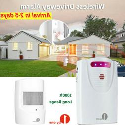1byone Home Security Wireless Driveway Alarm Doorbell Motion