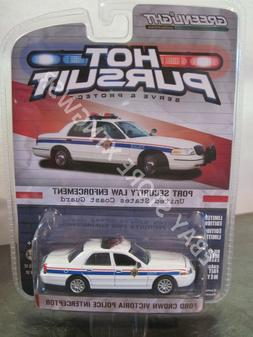 Hot Pursuit Port Security Law Ford Crown Victoria Intercepto