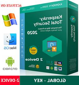 KASPERSKY TOTAL Security 2020 / 2 Device / 1 Year / GLOBAL -