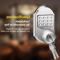 Keyless Smart Door Lock Mechanical Higher Security Deadbolt