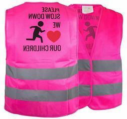 Kids Safety Vest,Security Hi-Visibility Reflective Vest,Runn