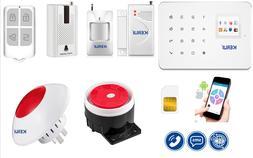 Kit Security Alarm System KERUI G18 WIFI GSM Security  SMS C