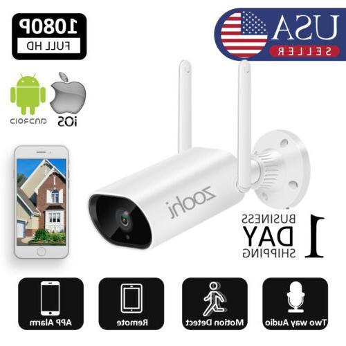 1080p hd wireless outdoor indoor security wifi