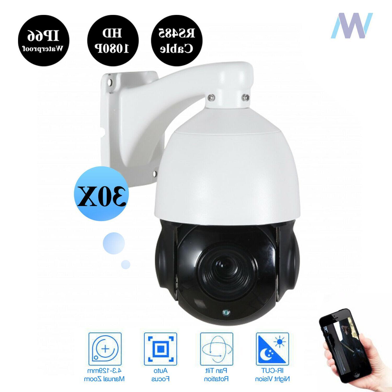 1080P PTZ Camera Outdoor Speed Dome Cam