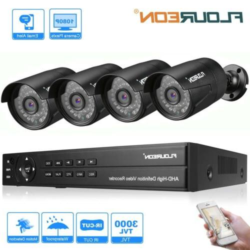 Outdoor Camera 1080p Full Video Surveillance System