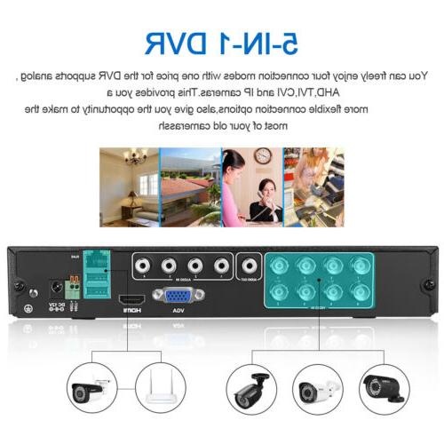 Outdoor 1080p Full Home 8CH Video DVR System