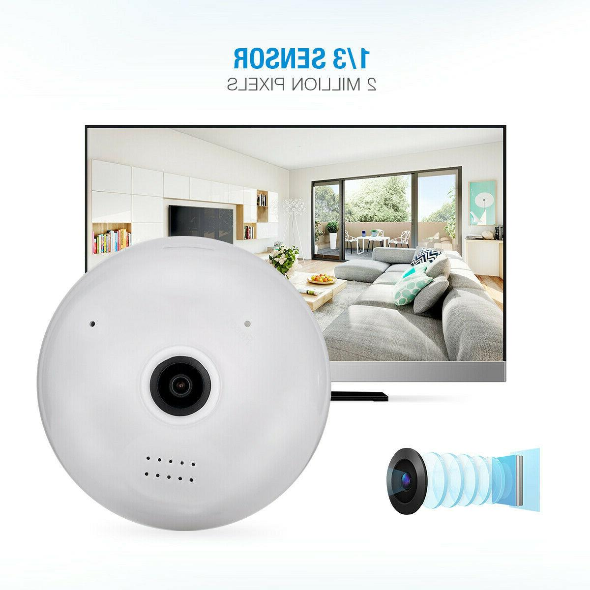 1080P IP Camera Panoramic Fish Eye
