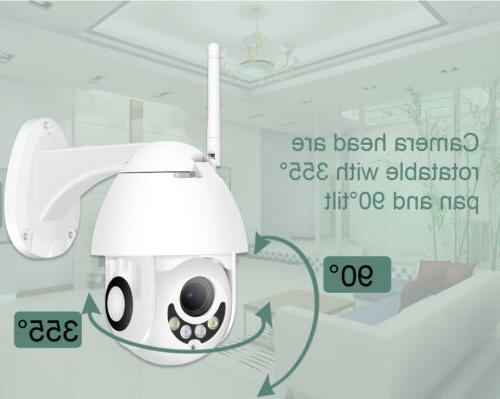 1080P WIFI WHITE HD Home Security Cam Record