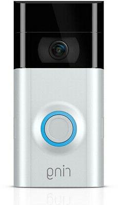 Ring 2 1080HD Video Doorbell Smart Home Security Night Visio