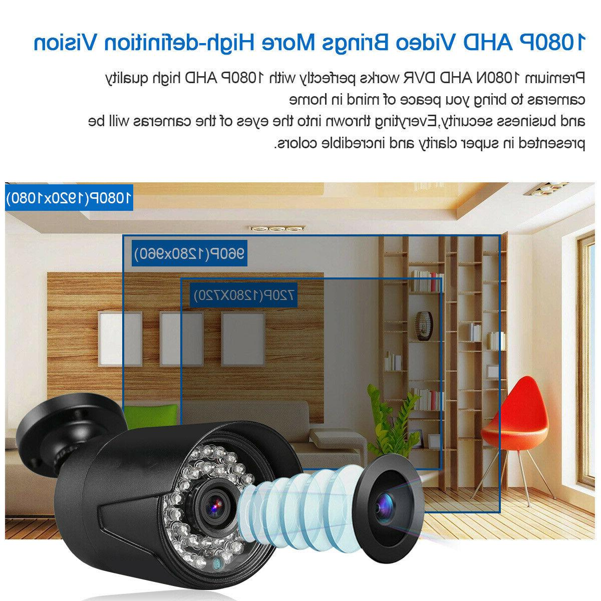 4CH 1080N + 4 1080P Camera