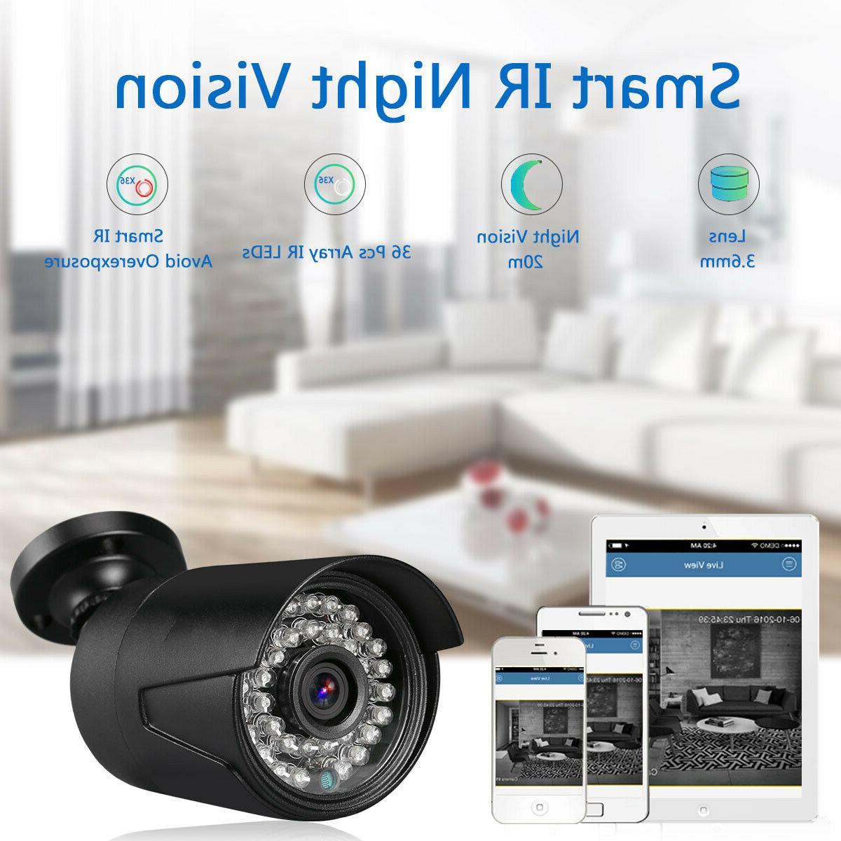 4CH 1080N + 1080P HD CCTV Camera