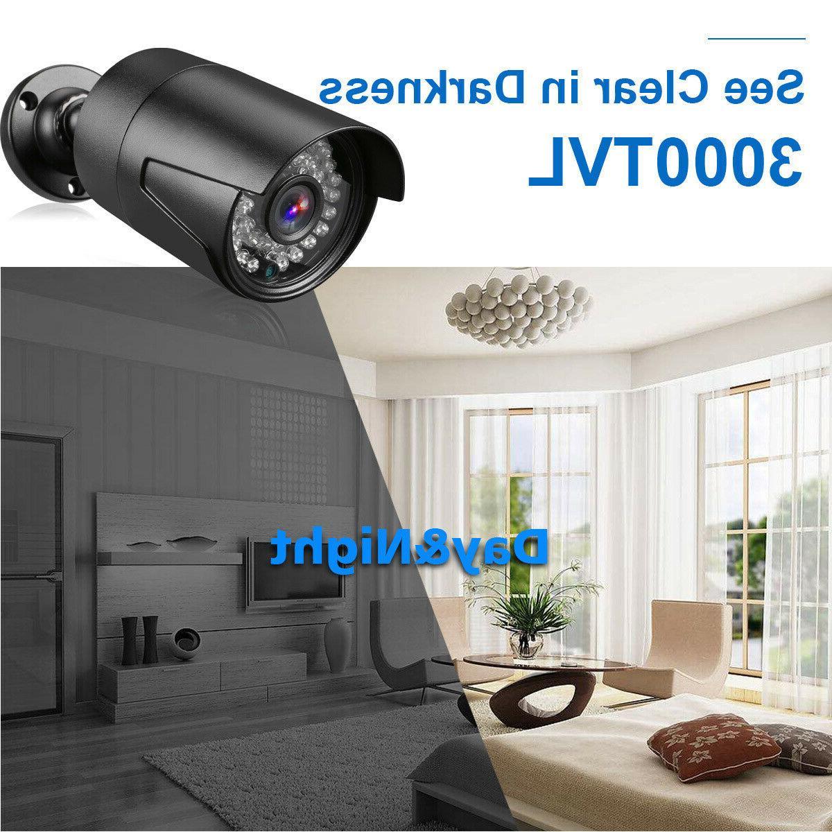 4CH Camera Surveillance 1080N + 4 1080P CCTV Camera Nigh