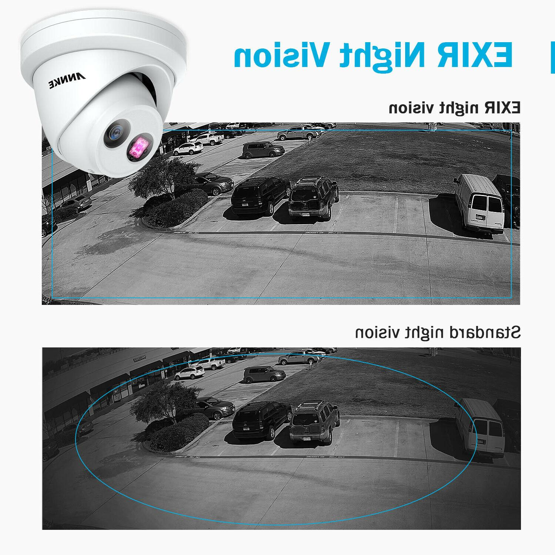 ANNKE 4K 8MP IR POE Camera Detection Vision