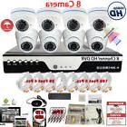 8 Channel Complete Security Camera System  8x HD Outdoor Ind