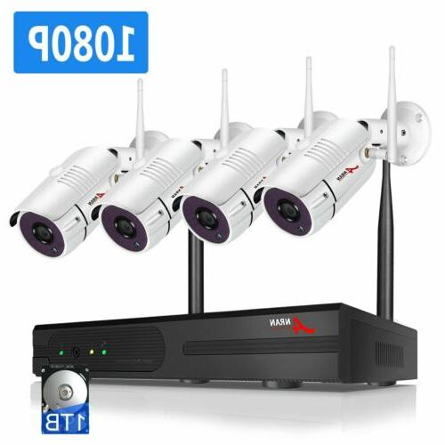 ANRAN 1080P Camera System with 1TB Hard