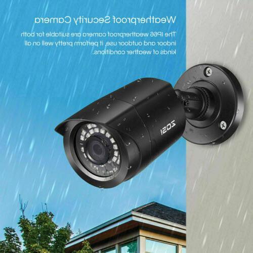 ZOSI H.265+ 1080P HDMI Surveillance System