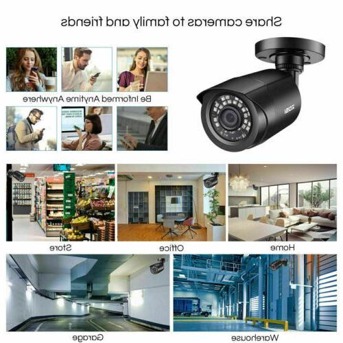 ZOSI H.265+ HDMI 2MP Outdoor Surveillance