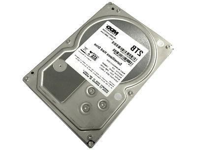 "MDD 2TB 7200RPM SATA 3.5"" Surveillance Hard Drive -CCTV DVR,"