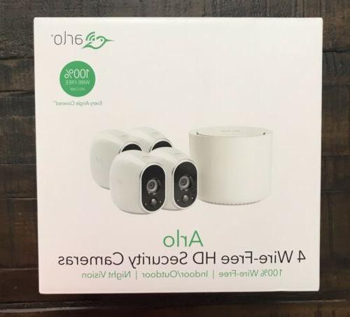 arlo smart home wire free hd security