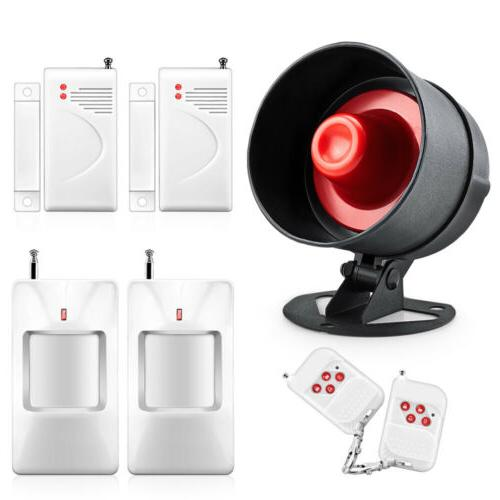 electronic alarm siren horn indoor for home