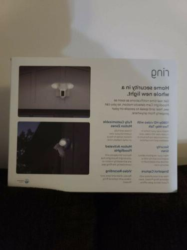 Ring Floodlight Activated Floodlight-Brand New