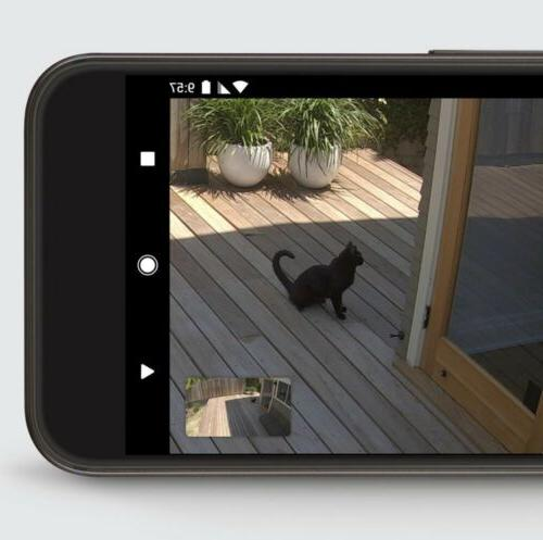 Google Nest Cam Hardwired Smart Security Cam White