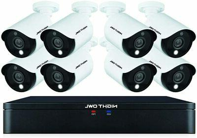 8 channel wired 1tb 1080p security camera