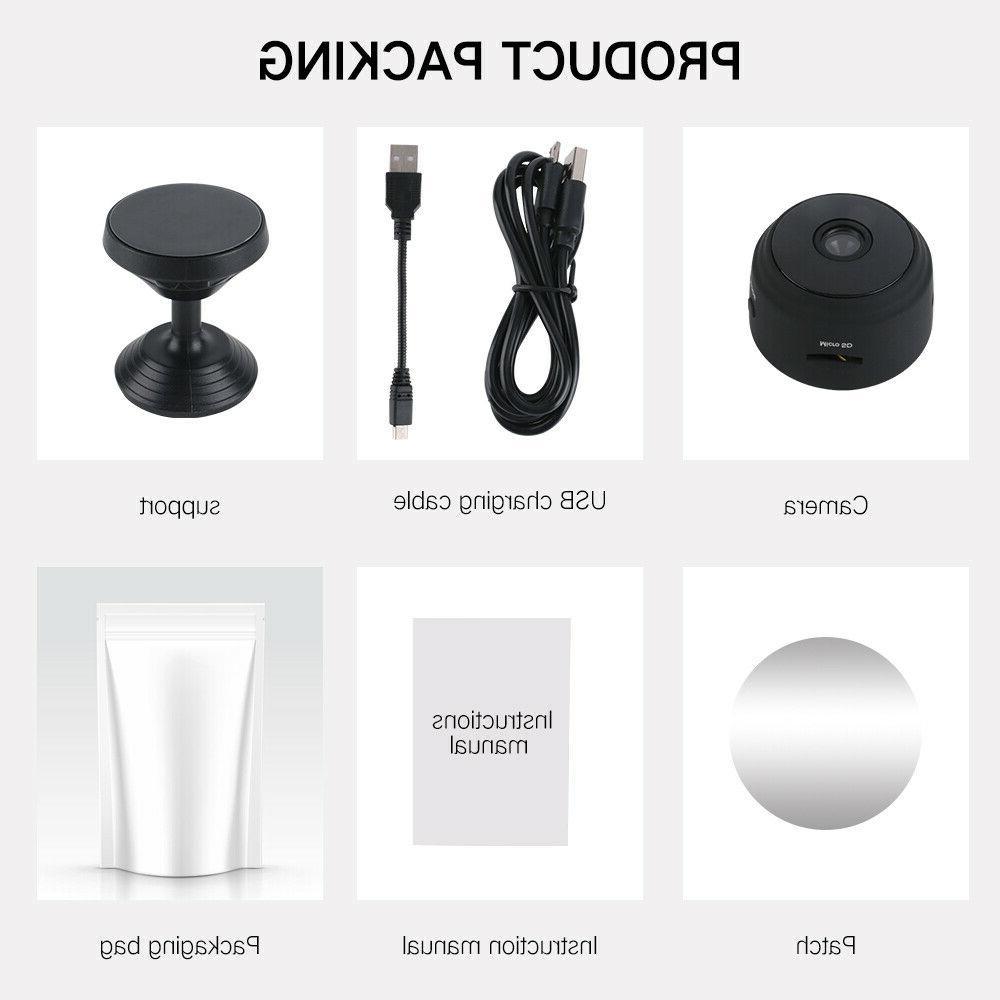 Mini Spy Wifi Wireless Night Home 1080P DVR