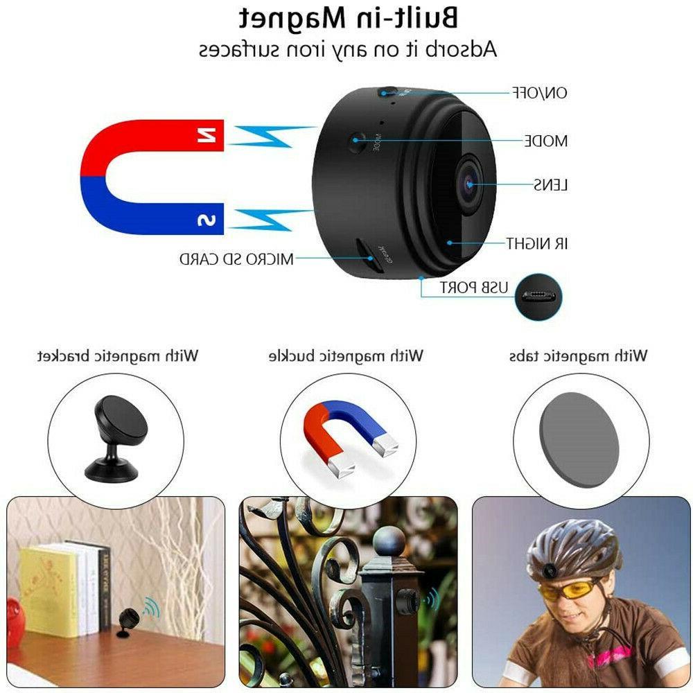Mini Spy Wifi Wireless Night Home Security DVR