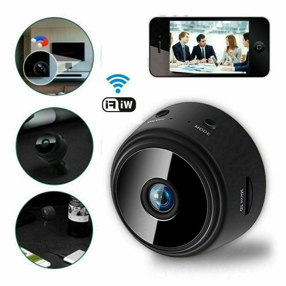 Mini Spy Camera Home Security 1080P DVR