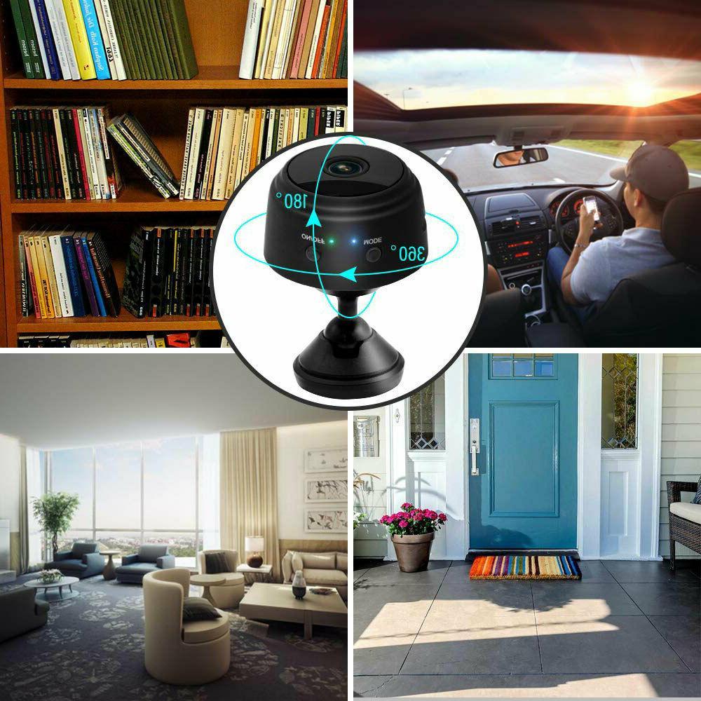 Mini Spy Wireless HD Indoor Home Cam
