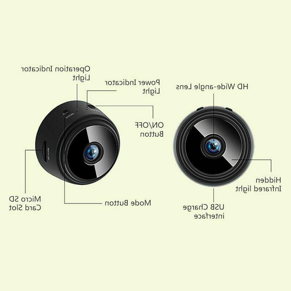 Wireless HD Indoor Home Security Cam