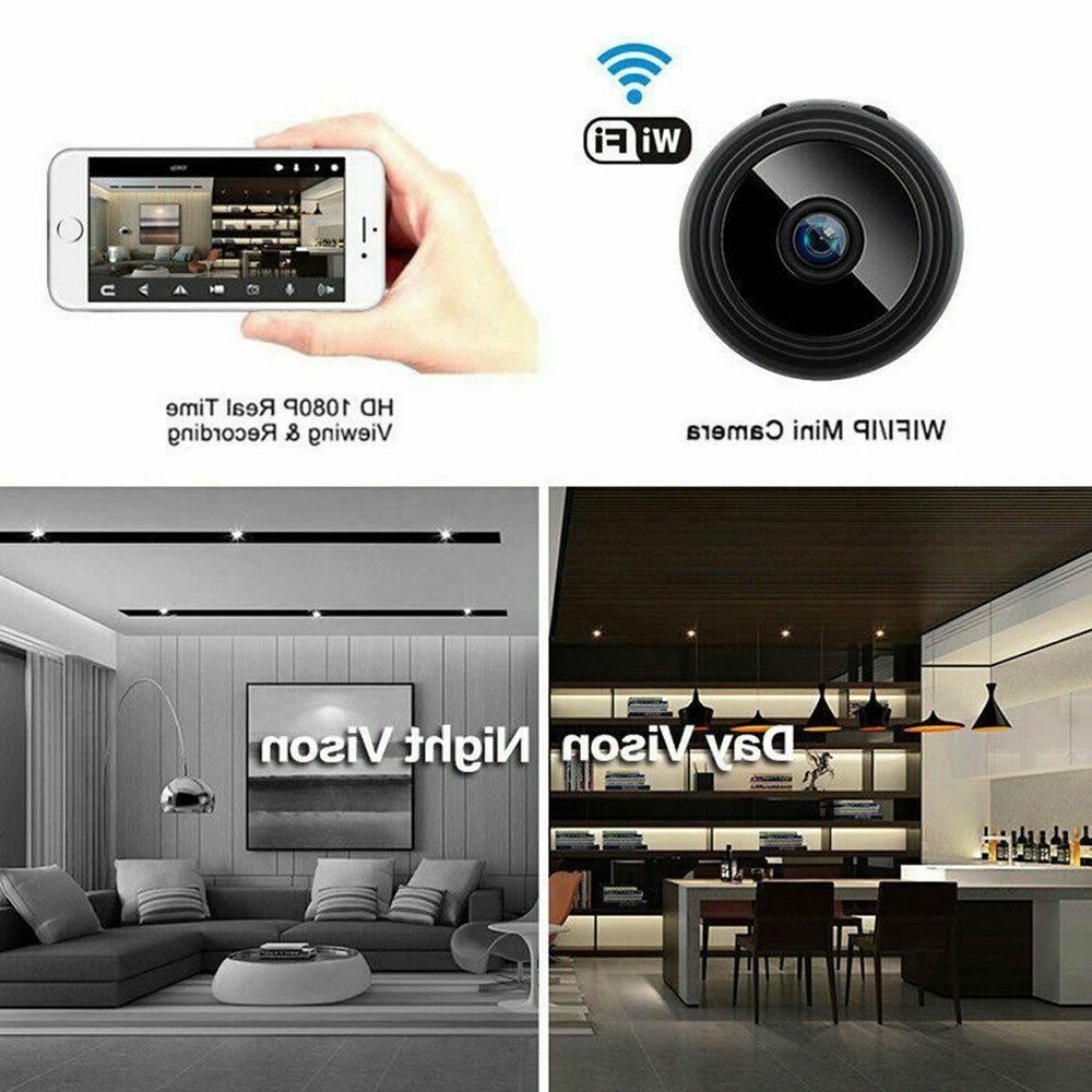 Mini Hidden Spy Wireless HD Wifi Indoor Small Cam