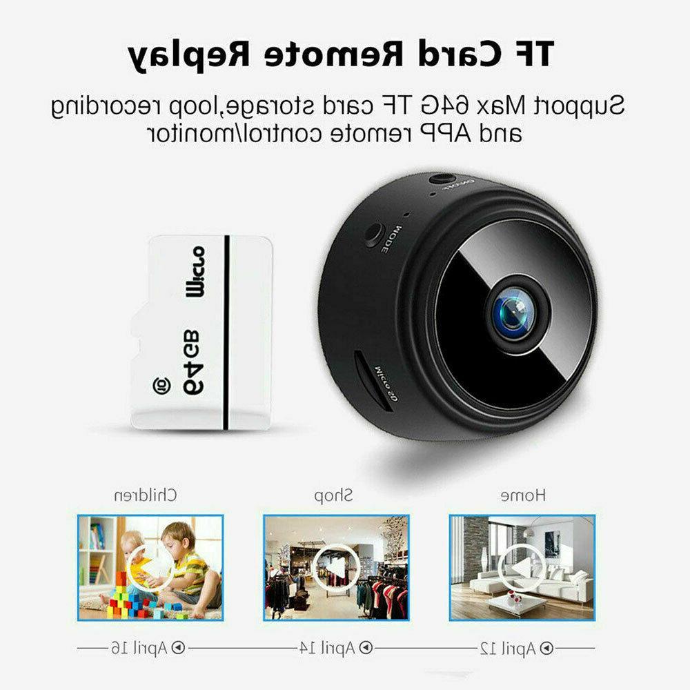 Mini Camera Wireless HD Wifi 1080P Indoor Home Cam DVR