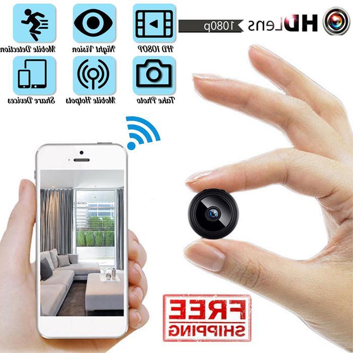 mini hidden spy camera wireless hd wifi