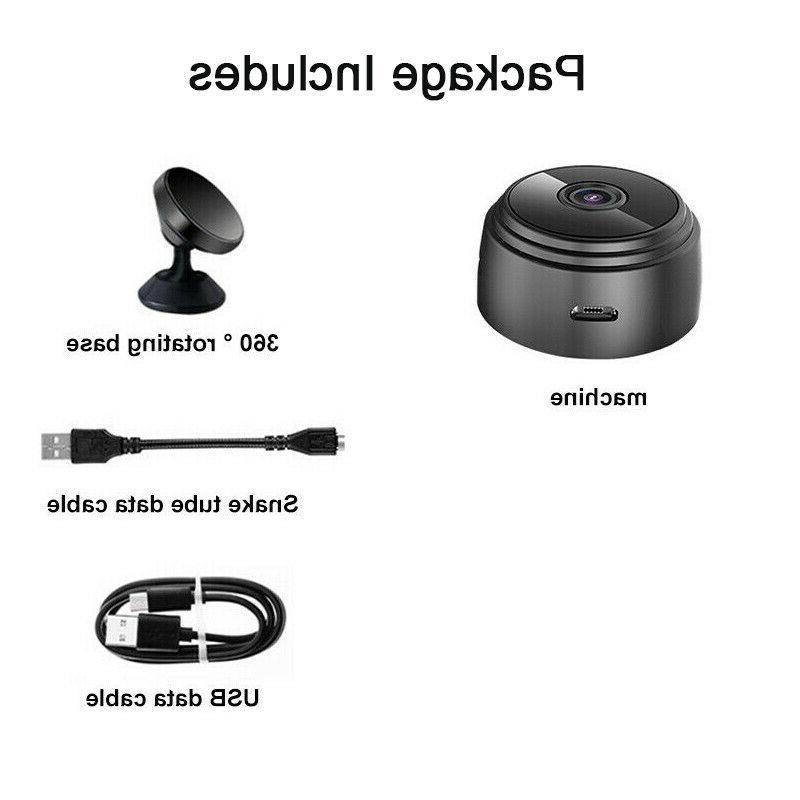 Mini Spy Camera Wireless Wifi IP Security HD Night