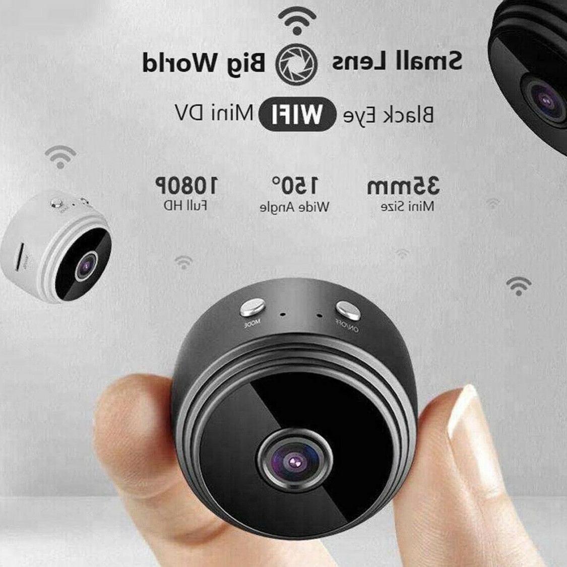 Mini Wifi Home Security 1080P DVR Night Remote USA