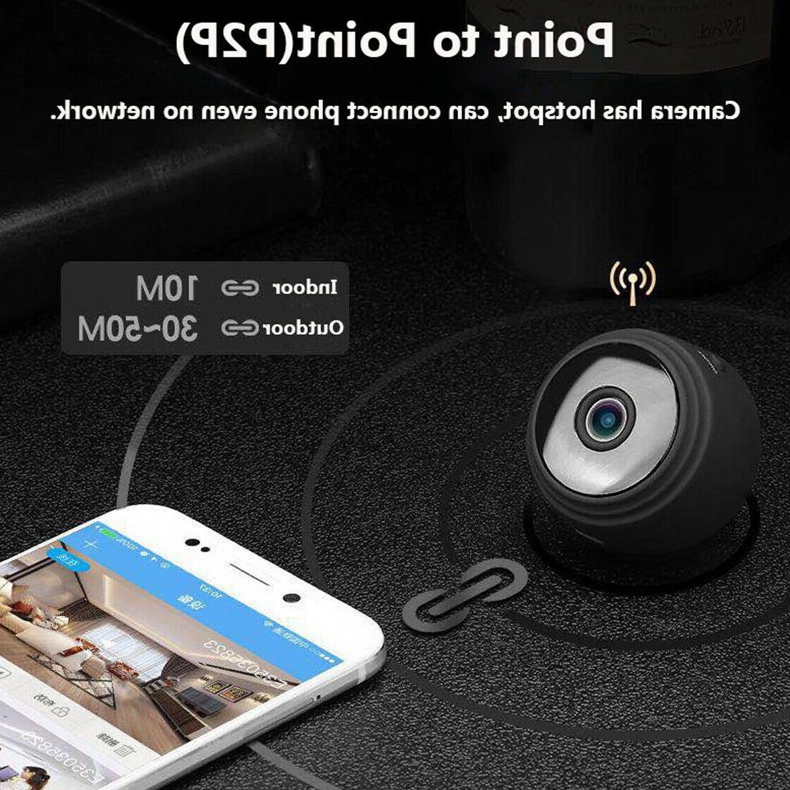 Mini Wireless IP Camera Wifi Home 1080P Remote