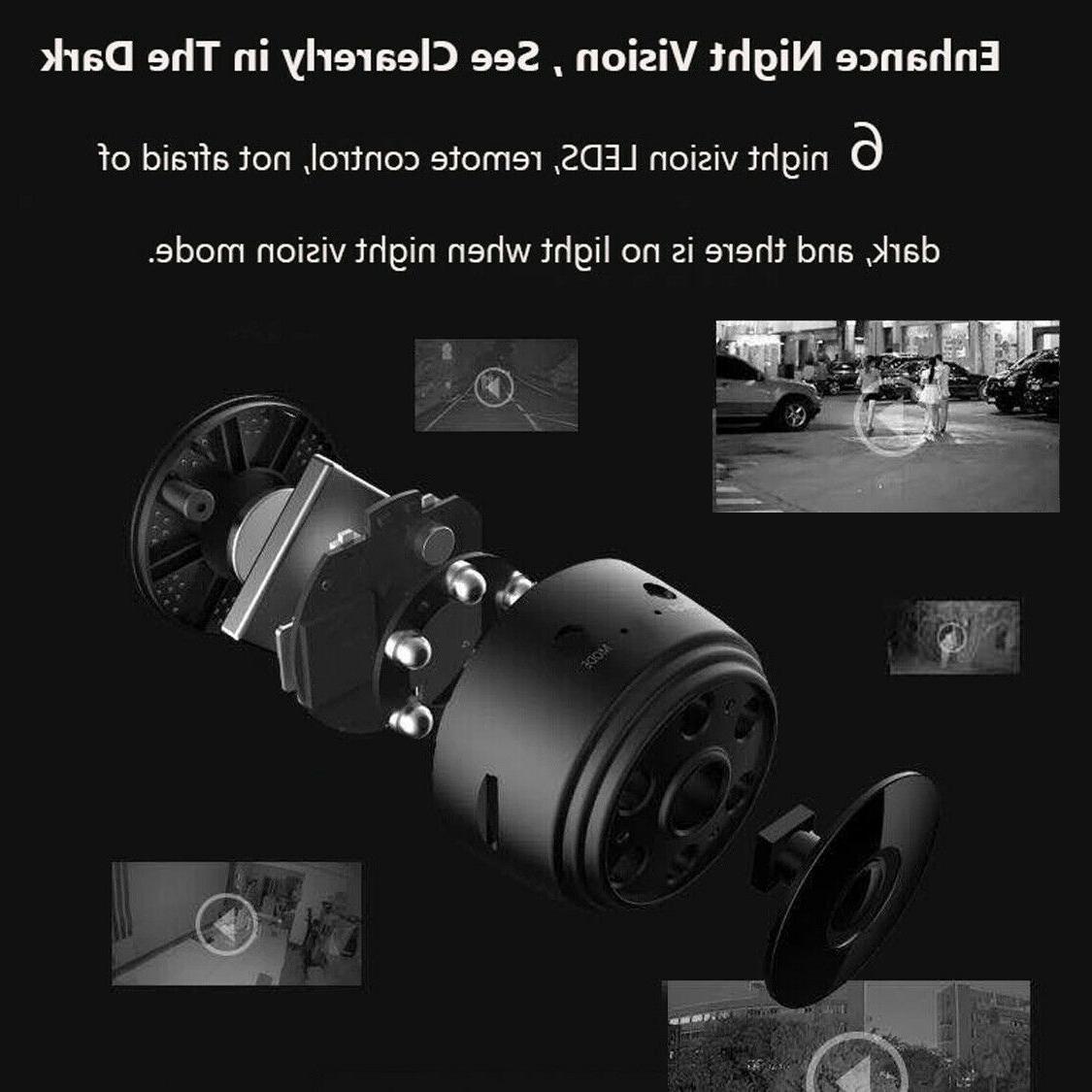 Mini Wifi Security 1080P Night Vision Remote