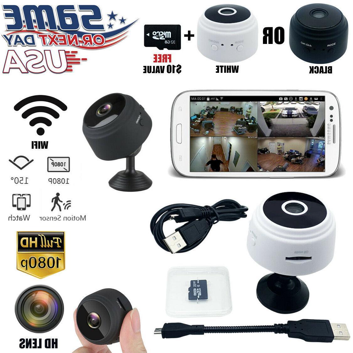 mini wireless ip camera wifi home security