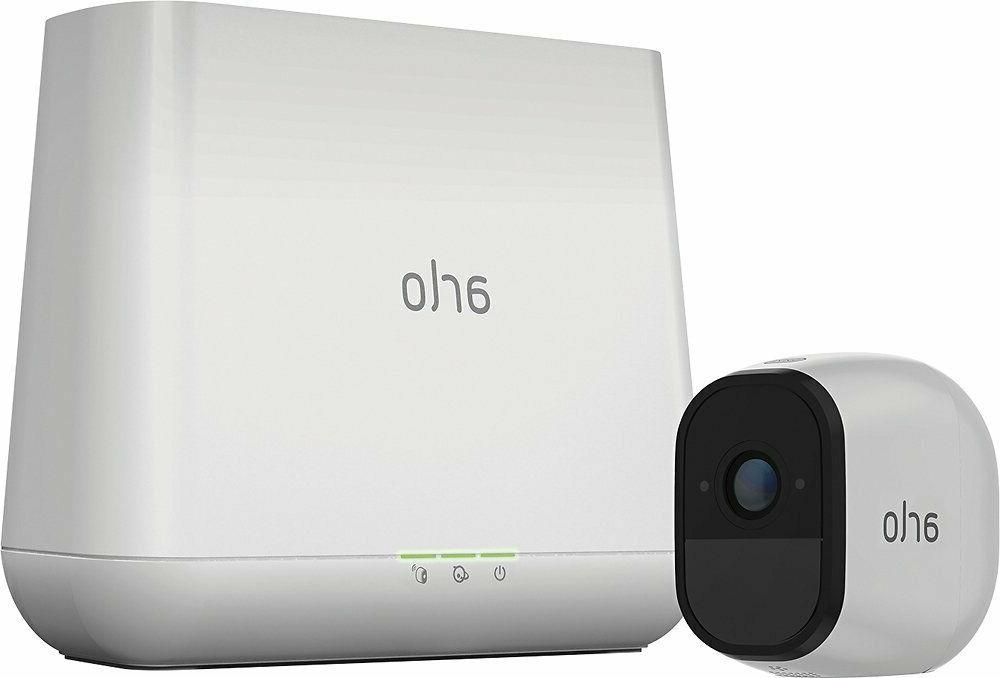new arlo pro smart security system wire