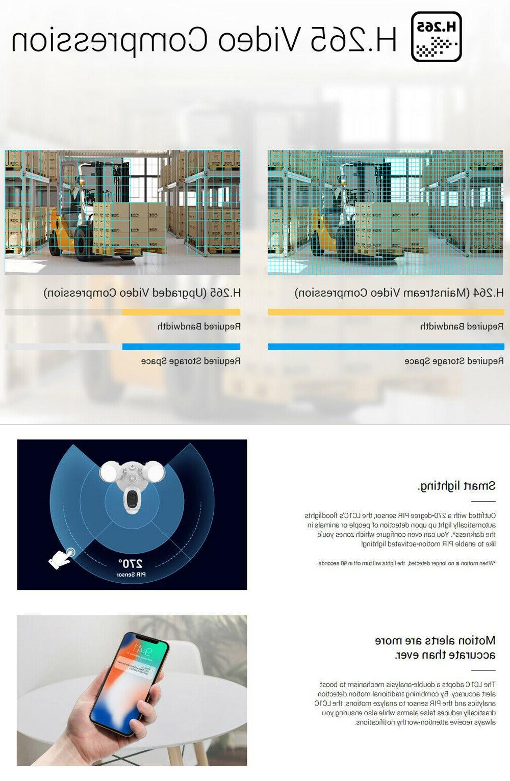 EZVIZ Outdoor WIFI Smart Night Vision 2-Way LC1C